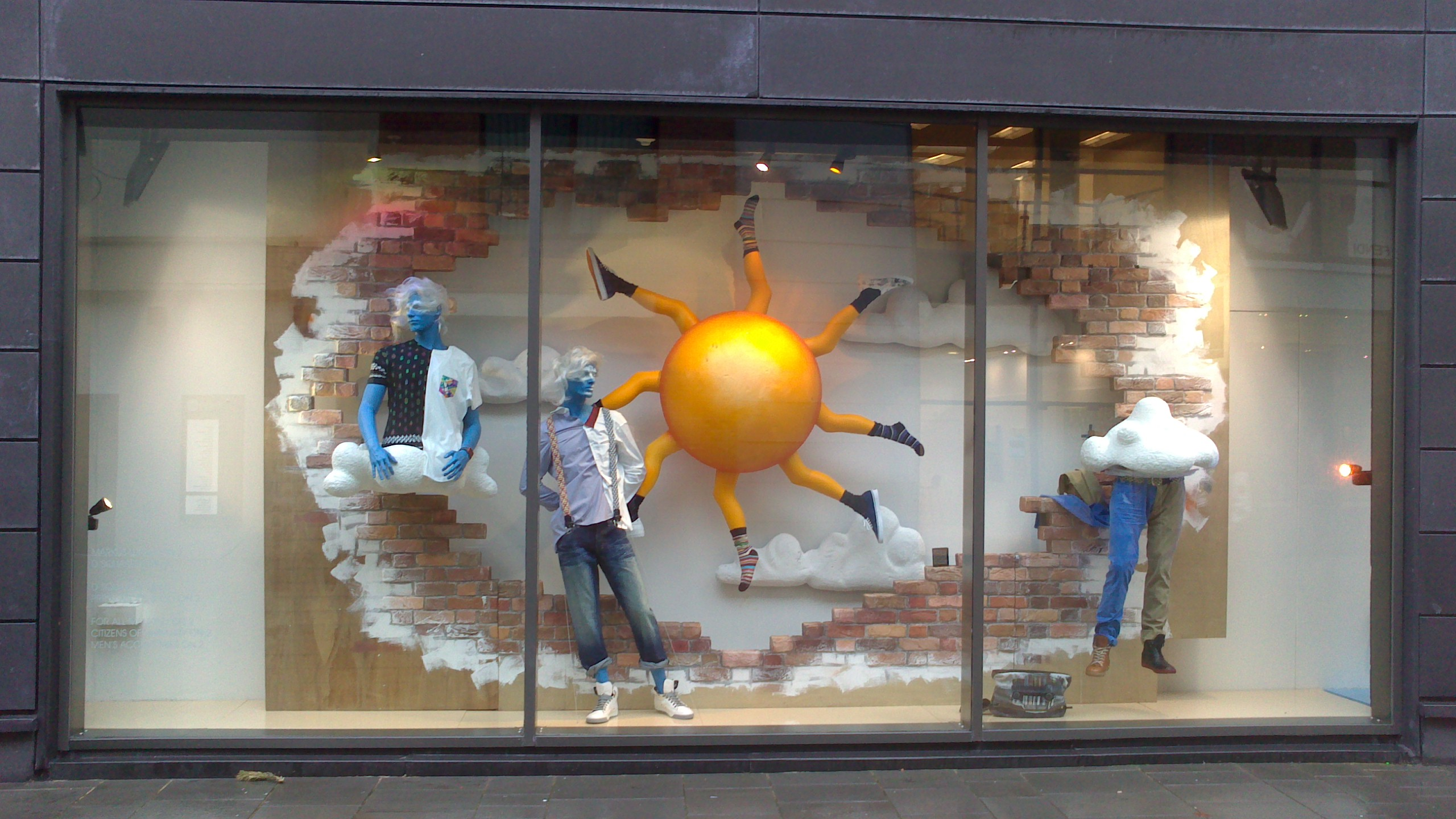 Harvey nichols window a cultural movement lisamalyon for Harvey windows